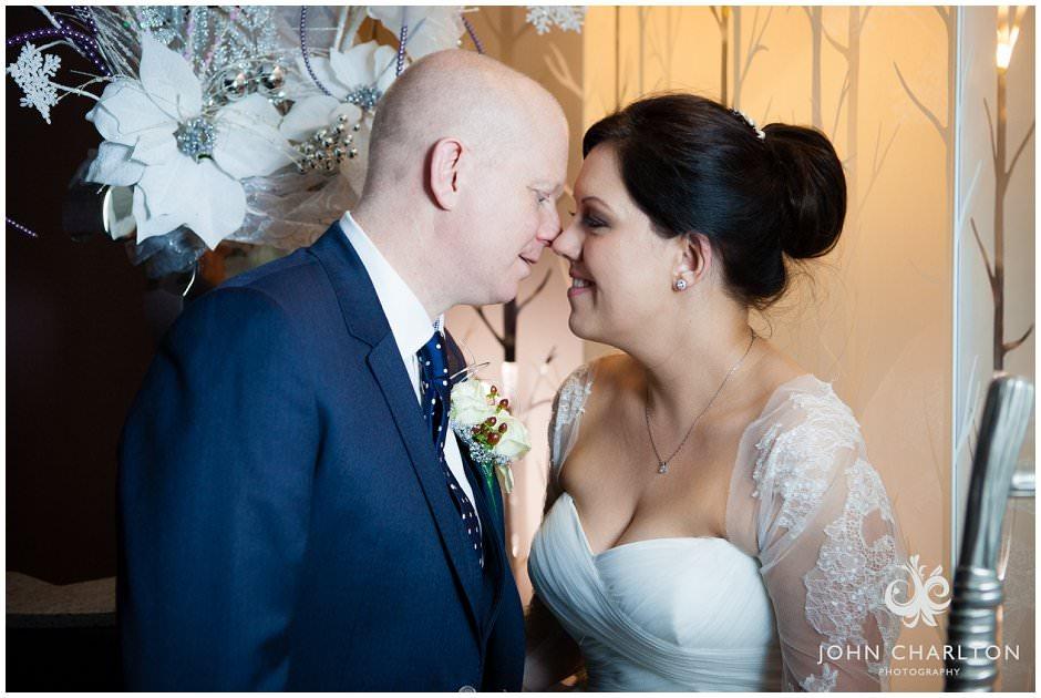 Winter Wedding at Hogarths Hotel {Emma and Jason}