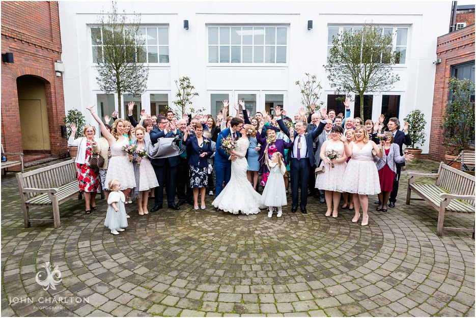 Fazeley Studios Wedding on Valentines Day by John Charlton Photography (16)