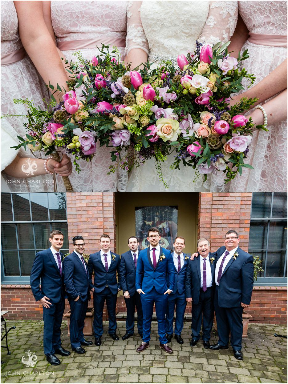 Fazeley Studios Wedding on Valentines Day by John Charlton Photography (14)
