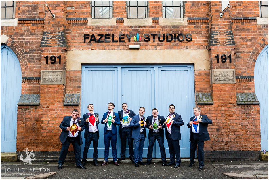 Fazeley Studios Wedding on Valentines Day by John Charlton Photography (13)