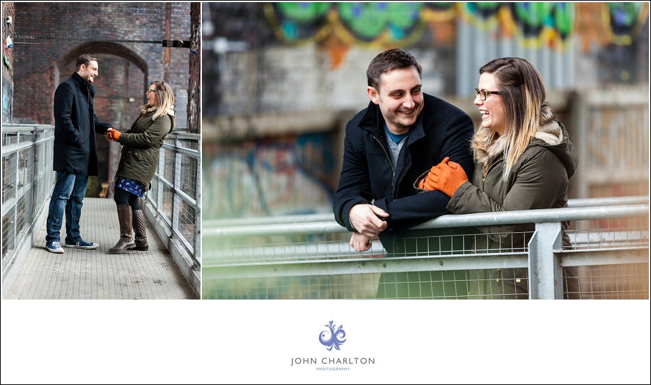 Edd and Lizzi's Digbeth Engagement shoot by wedding photographer John Charlton (12)