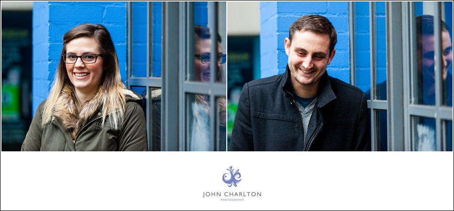 Edd and Lizzi's Digbeth Engagement shoot by wedding photographer John Charlton (10)