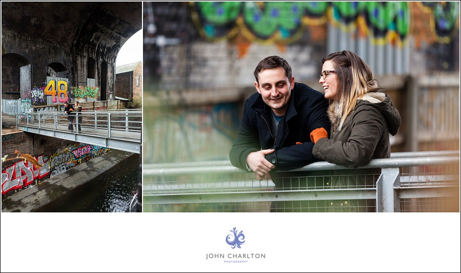 Edd and Lizzi's Digbeth Engagement shoot by wedding photographer John Charlton (5)