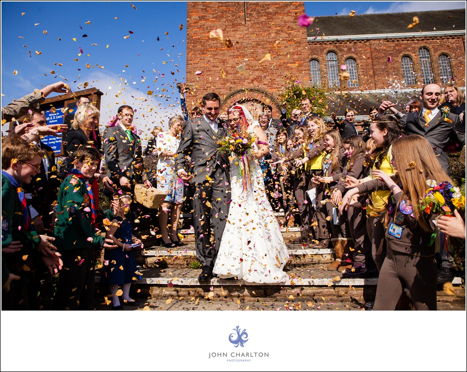 Bromsgrove Tipi Wedding - photographed by wedding photographer John Charlton (14)
