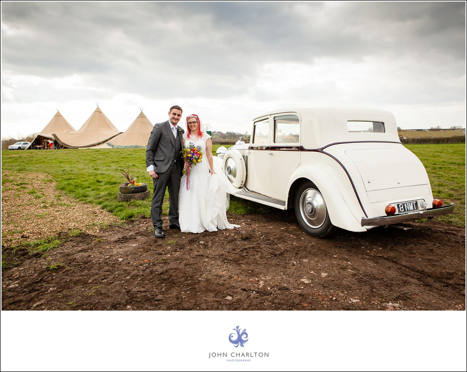 Bromsgrove Tipi Wedding - photographed by wedding photographer John Charlton (7)