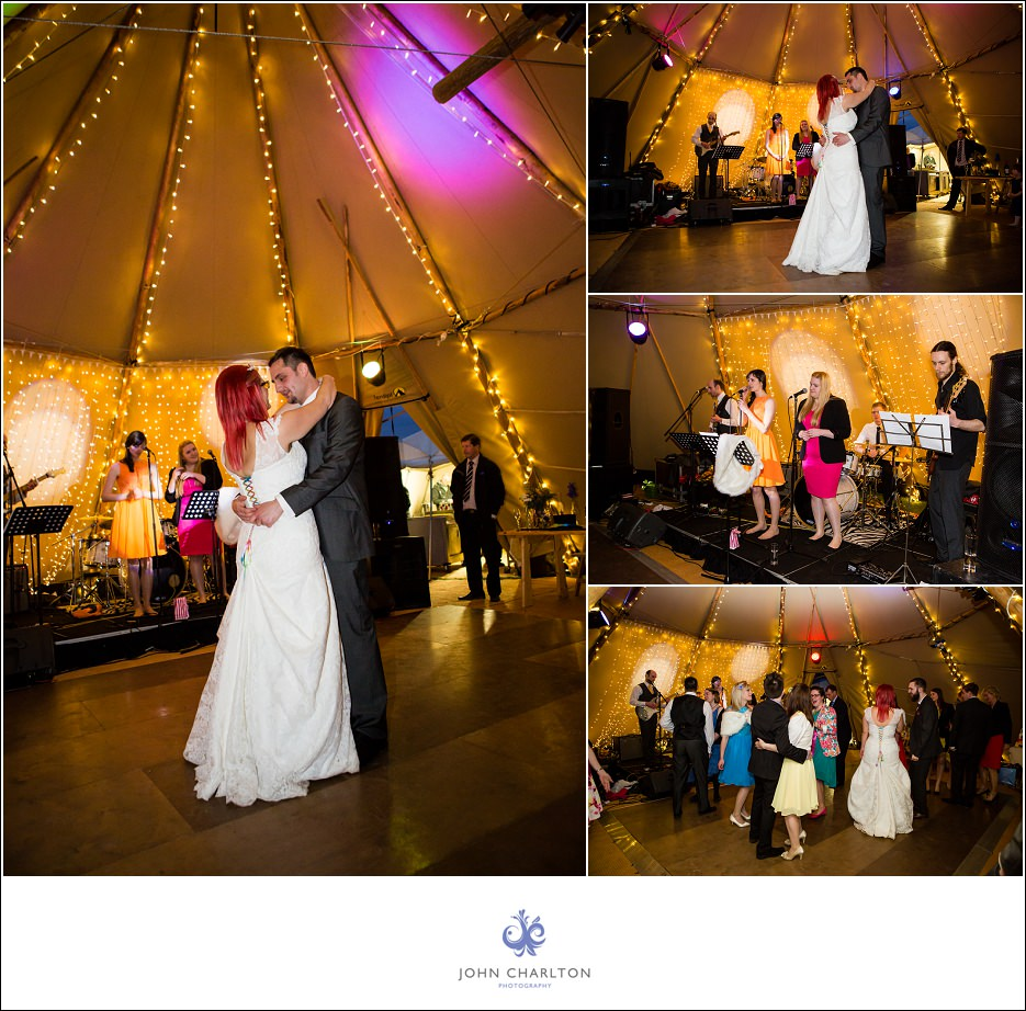 Bromsgrove Tipi Wedding - photographed by wedding photographer John Charlton (2)
