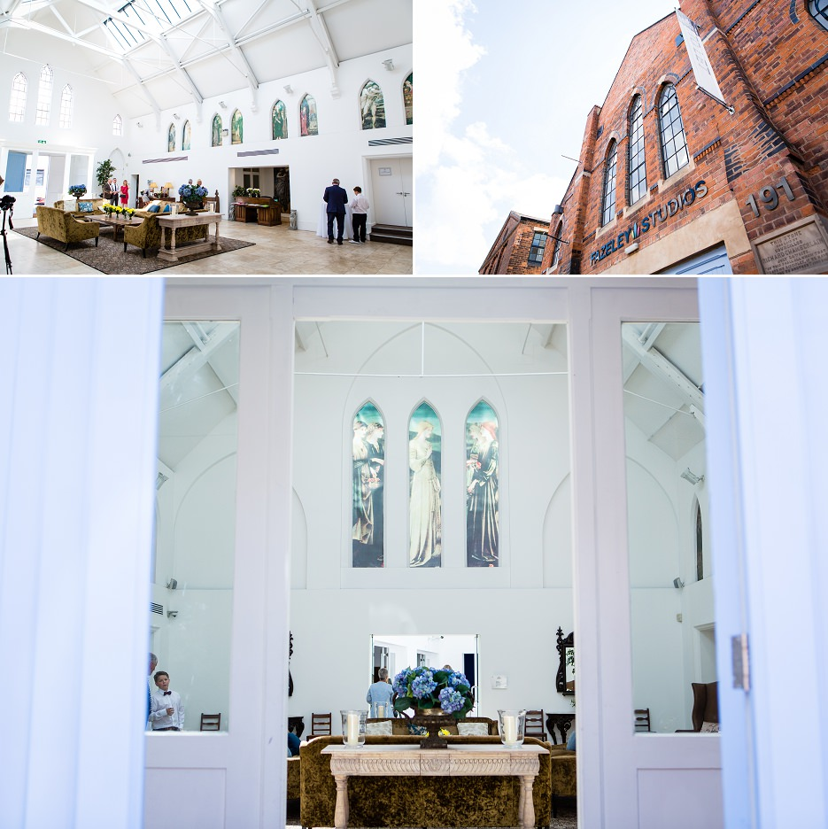 Summer wedding at Fazeley Studios in Birmingham by John Charlton Photography (27)