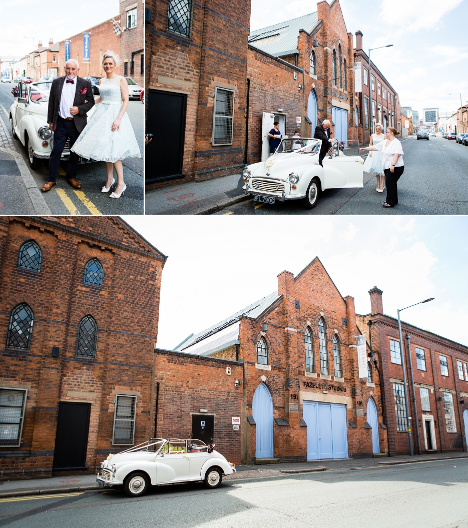 Summer wedding at Fazeley Studios in Birmingham by John Charlton Photography (23)