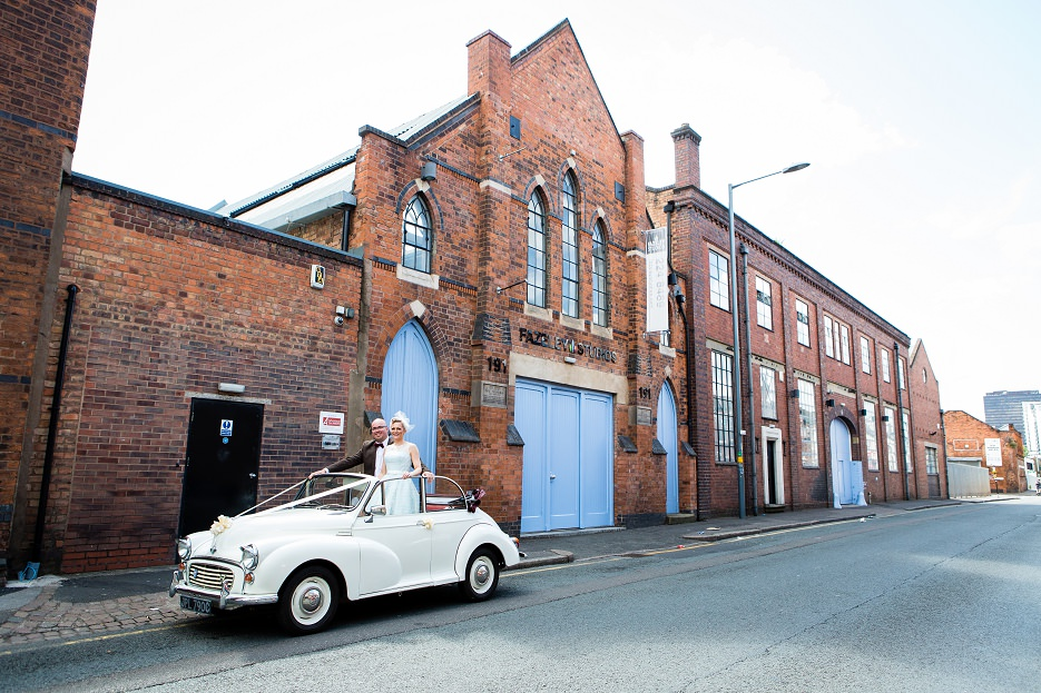 Summer wedding at Fazeley Studios in Birmingham by John Charlton Photography (14)