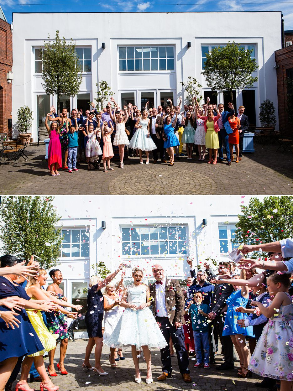 Summer wedding at Fazeley Studios in Birmingham by John Charlton Photography (13)