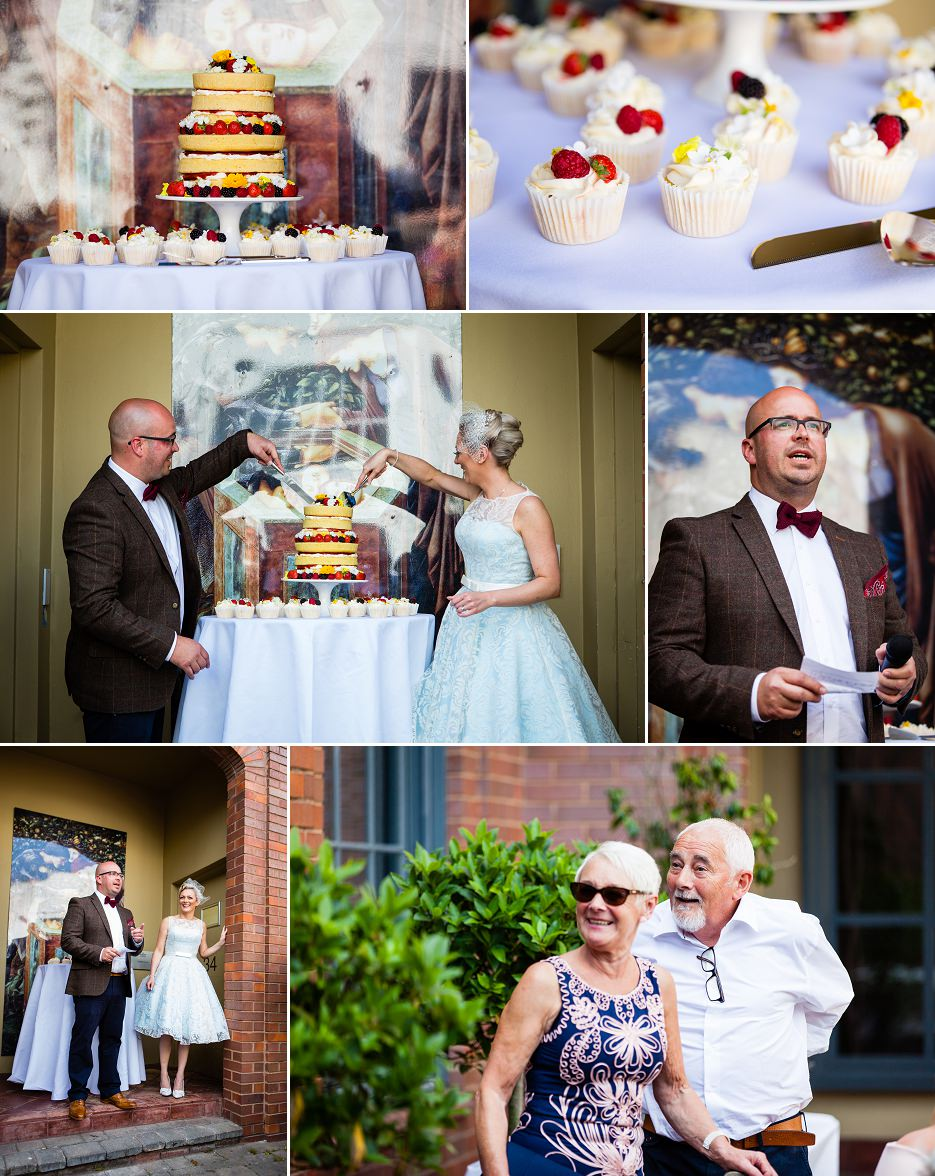 Summer wedding at Fazeley Studios in Birmingham by John Charlton Photography (12)