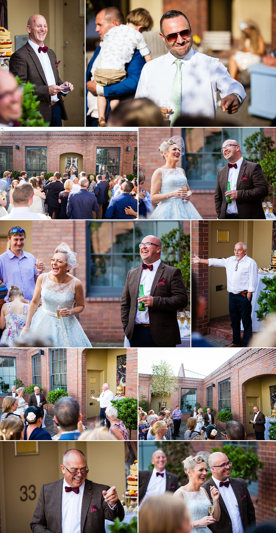 Summer wedding at Fazeley Studios in Birmingham by John Charlton Photography (11)