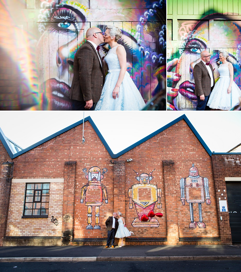 Summer wedding at Fazeley Studios in Birmingham by John Charlton Photography (10)