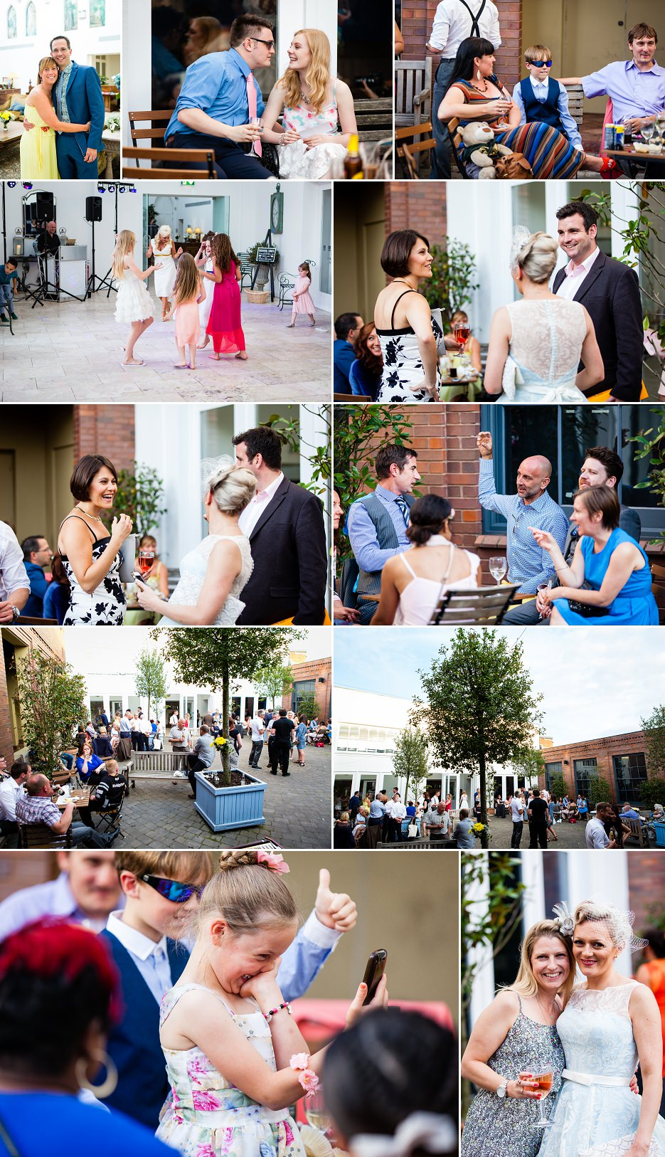 Summer wedding at Fazeley Studios in Birmingham by John Charlton Photography (4)