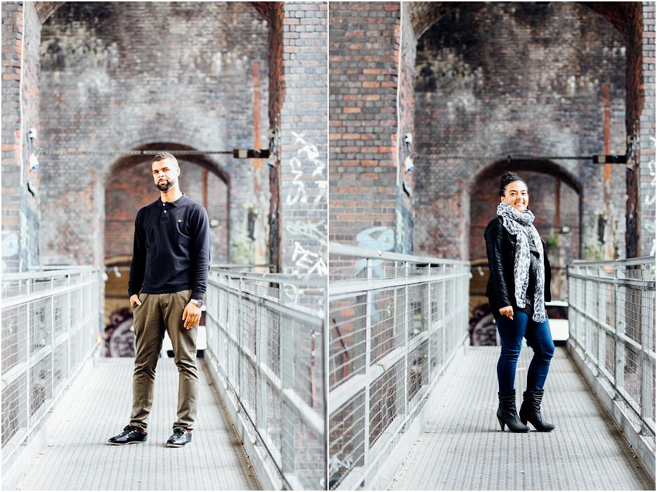 Fazeley Studios competition winners Michelle and Ross's engagement shoot in Digbeth (8)