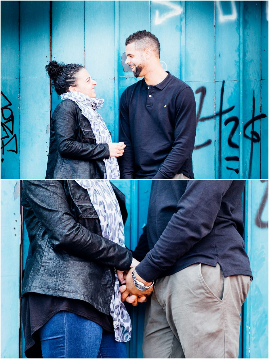 Fazeley Studios competition winners Michelle and Ross's engagement shoot in Digbeth (7)