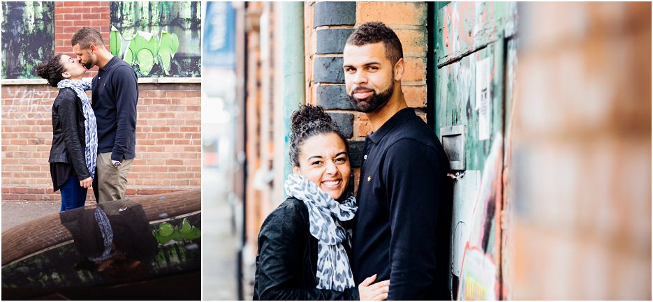 Fazeley Studios competition winners Michelle and Ross's engagement shoot in Digbeth (6)