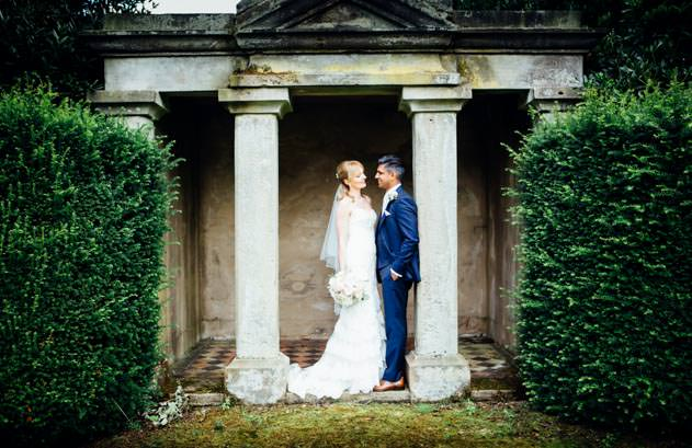 Sandon Hall Wedding photographed by John Charlton
