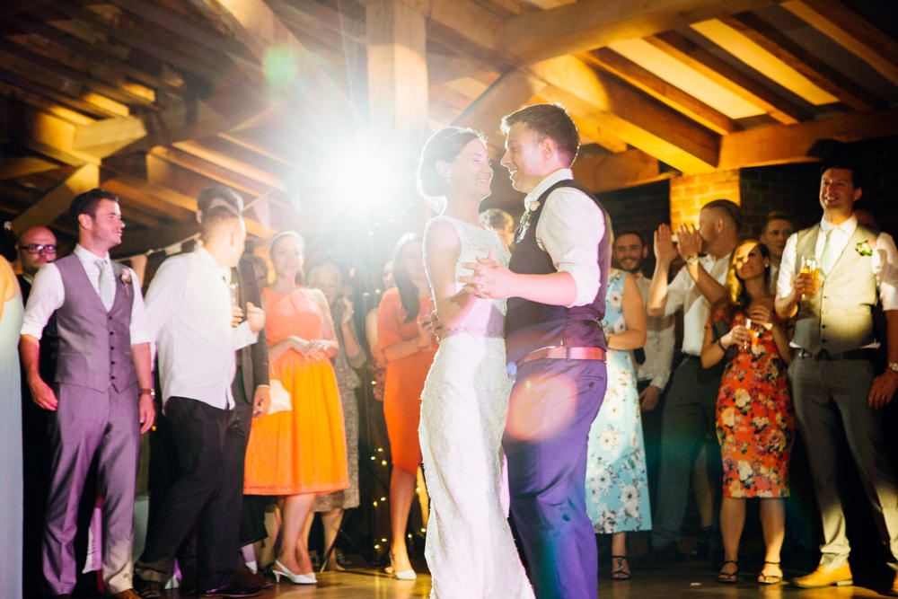 Packington Moor Featured Wedding Bride and Groom dancing