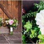 Packington Moor wedding - bride's bouquet of flowers