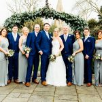Moreton-in-the-Marsh wedding wedding party photograph