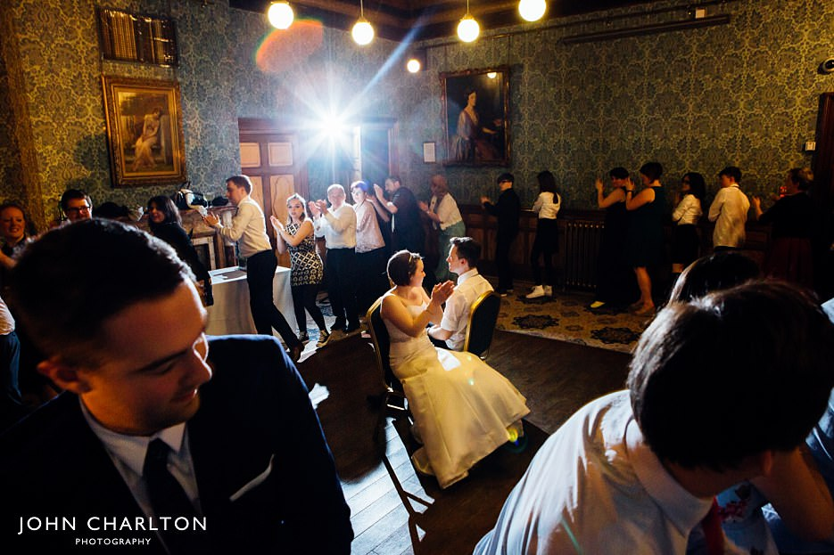 Ceilidh Band at Highbury Hall Wedding - John Charlton Wedding Photographer