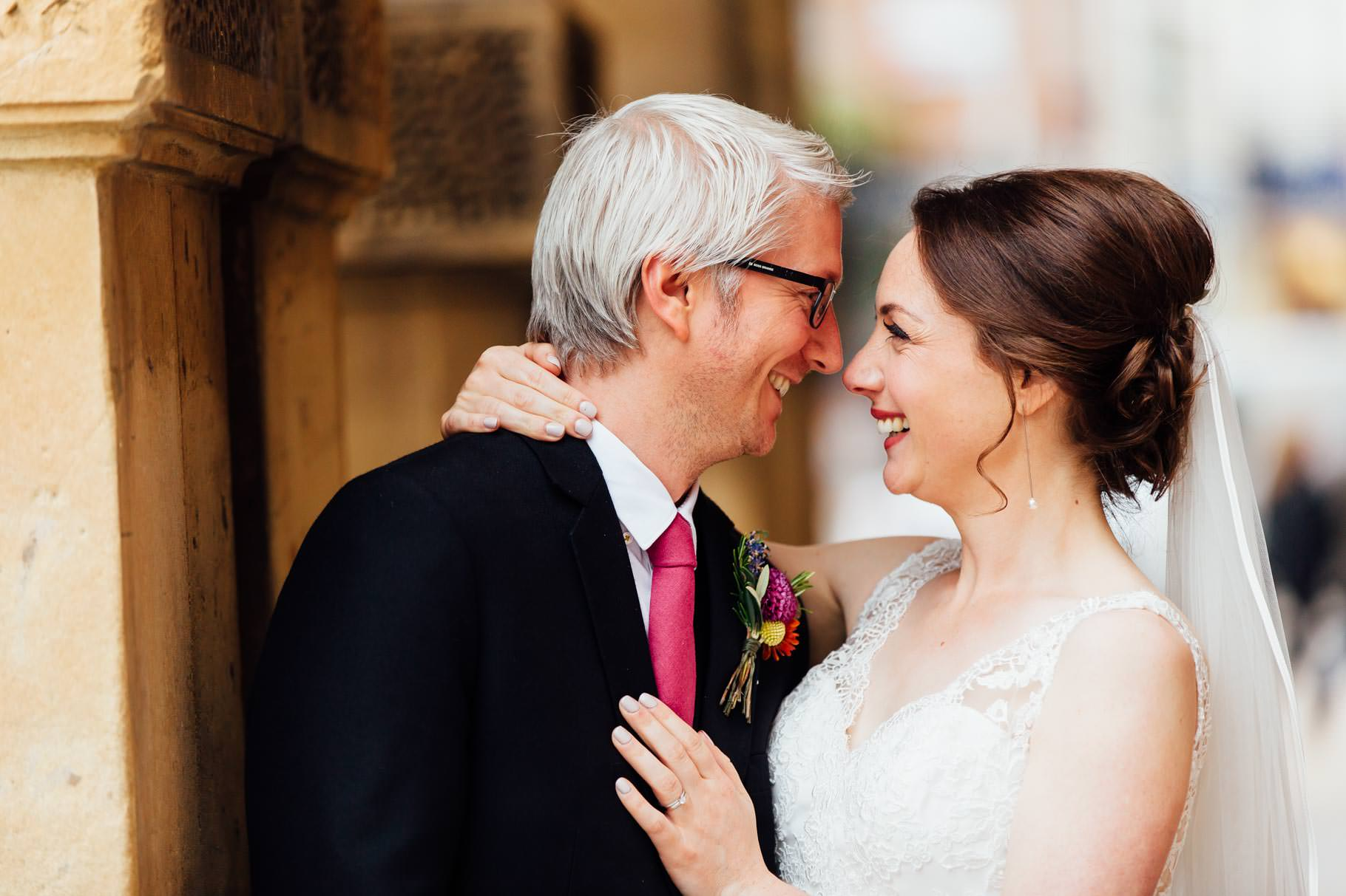 Leamington Spa Wedding Bride and Groom