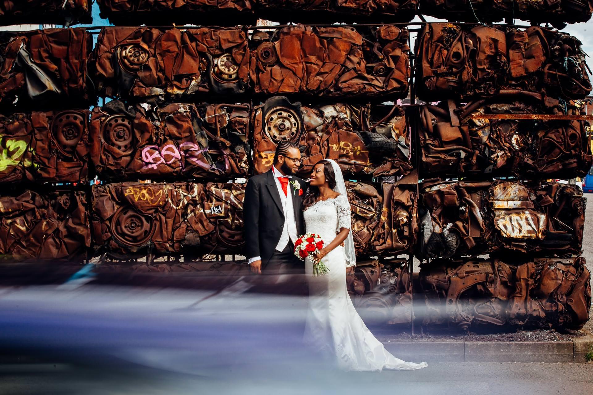 Custard Factory Birmingham wedding photograph